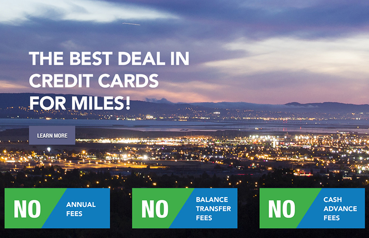 we have the best deal in credit cards for miles. Learn more here.