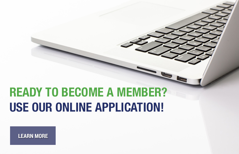 Ready to become a member? Use our online application!