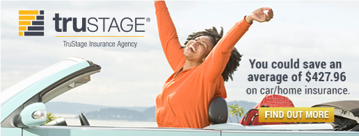 Trustage insurance agency. You can save an average of 427.96 dollars on car and home insurance.
