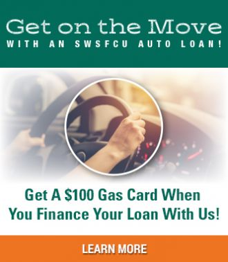 $100 Gas Card with auto loan promotion
