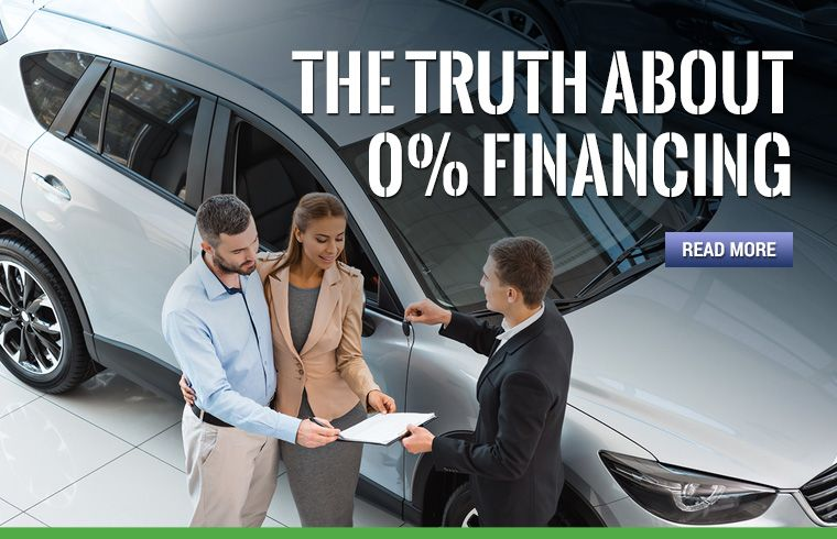 Truth About Zero Percent Auto Financing